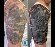 Black Tattoo Cover Up   Tattoo - cover ups and re-works   Pinterest ...