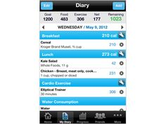 MyFitnessPal: best FREE fitness app ever. I use this every single day for calorie and exercise tracking.