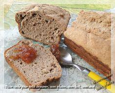 Gourmande sans gluten: Pain cake pour petit déjeuner, sans gluten, sans lait, sans oeuf