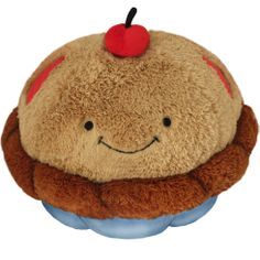 Squishable Cherry Pie! A cute plush pastry for hugging and snurfling! #squishable #cherrypie #plush #new