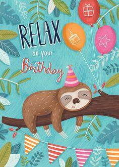 happy birthday wishes Advocate-Art Happy Birthday Wishes Cards, Birthday Wishes And Images, Birthday Pictures, Birthday Greeting Cards, Free Happy Birthday, Singing Happy Birthday, Sloth Happy Birthday, Happy Birthday Illustration, Birthday Reminder