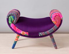 Striped Wing patchwork sofa by namedesignstudio on Etsy