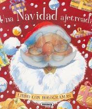UNA NAVIDAD AJETREADA.Susaeta Ediciones.  Este cuento navideño, explica cómo Papá Noel reparte los regalos. A pesar de que es mucho trabajo en un solo día, logra llegar a todos los hogares, eso sí gracias a sus renos que lo transportan. Un libro con hologramas que sorprenden en cada página, dando movimiento a los personajes que de esta forma parecen cobrar vida. BIBLIOTECA