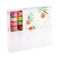 Virginia Johnson x NADÈGE Macaron Package design - part of their newly launched Artist Packaging Series