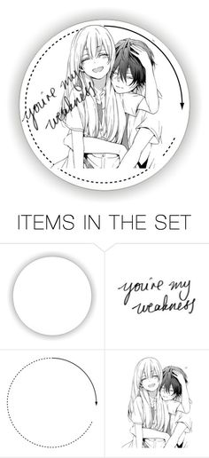 """""""Anime icons"""" by devilswifi ❤ liked on Polyvore featuring art, icons, anime, icon and animeicon"""
