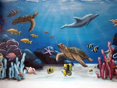 Amazing Children Ocean Wall Mural Design Inspirations