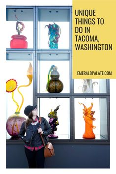 The best things to do in Tacoma, Washington. Whether you're looking for Tacoma Washington restaurants or want to explore downtown Tacoma, Washington and the Chihuly Glass Museum, here are is what do to in Tacoma, Washington when you are looking for unique activities! #seattledaytrips #seattledaytripswithkids #seattledaytripsbucketlist Stuff To Do, Things To Do, Tacoma Washington, Glass Museum, Weekend Getaways, Pacific Northwest, British Columbia, Idaho, North West