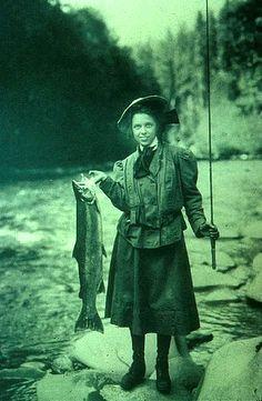 Go Girl!!  It's on: Wild fish advocates litigate against Elwha hatcheries