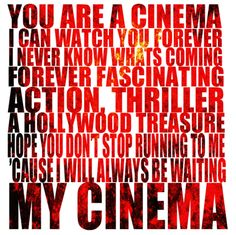 Best lyrics. <3  (Cinema -Benny Benassi feat. Skrillex)