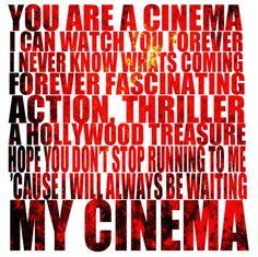 Best lyrics. <3  (Cinema -Benny Benassi feat. Skrillex)