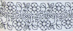 This is a modern variation of a classic medieval (Carolingian, to be precise) briar rose pattern