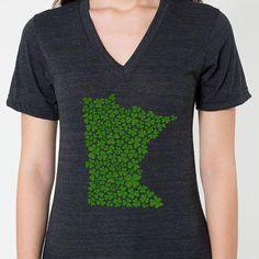 Minnesota Shamrocks St. Patrick's Day T-Shirt - MSP Clothing