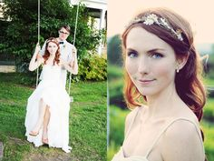 awesome makeup! Sweet Vermont Barn Wedding, at the inn at the mountain view farm, VT