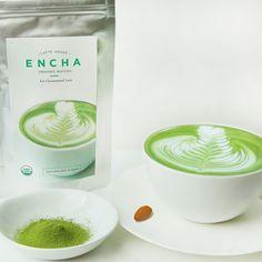 Vegan Latte-Grade ENCHA Organic Matcha - Take the #EnchaBuddy Challenge and receive a free bag of matcha!