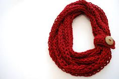 Image result for knitted scarf patterns using bulky yarn