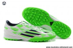 2014 Adidas F50 AdiZero (Green/White/Black) TRX TF Cleats
