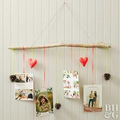 Our DIY ideas include creative Christmas wreaths unique garlands or even Christmas treesÑall incorporating holiday cards. Our DIY ideas includ Christmas Card Hanger, Hanging Christmas Cards, Noel Christmas, Vintage Christmas Cards, Christmas Decorations, Christmas Wreaths, Christmas Ideas, Holiday Decorating, Decorating Ideas