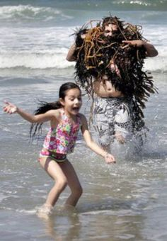 the seaweed monster is coming!!!!