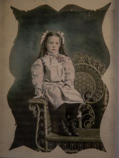 My grandmother (mother's mother) as a child. She was born in Sweden and immigrated to the US when she was small.