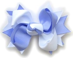 How To Make Boutique Hair Bow--3--Center Knot : Hip Girl Boutique - , Ribbons, Hair Bows, Hair Clips, Hairbow Hardware, Free Hairbow Instructions