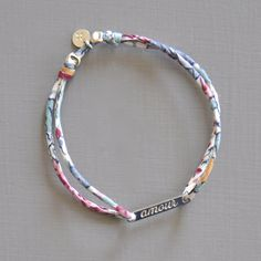 Bracelet Mots Doux on the shop http://ticha.bigcartel.com
