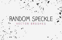 Medialoot - Vector Random Speckle Brushes