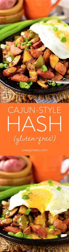 Could You Eat Pizza With Sort Two Diabetic Issues? Cajun-Style Hash Is A Filling, Gluten-Free Breakfast Or Brunch Recipe Packed With Savory Southern Flavors Gluten Free Recipes For Breakfast, Gluten Free Breakfasts, Brunch Recipes, Dinner Recipes, Breakfast Hash, Second Breakfast, Cooking Recipes, Healthy Recipes, Spam Recipes