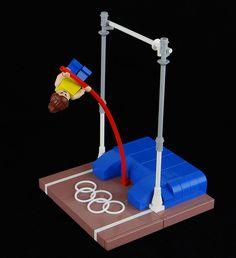 Pole vault Lego, love it!!