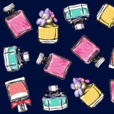 Be Diff - Estampas figurativas | Perfume by Laura Fernandez