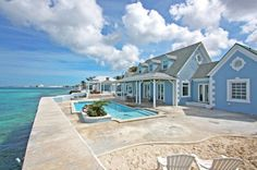 I liked this residential home in West Bay Street, Bahamas