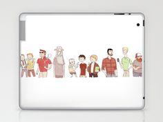 The Broship of the Ring      //  by Noelle Stevenson  //    Laptop & iPad Skin
