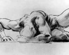 Drawing by John Singer Sargent. I just love this piece!