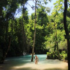 Lost in aqua - Kouang Si waterfalls, Laos