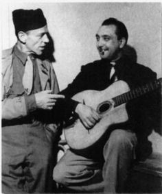 Fred Astaire & Django Reinhardt, 1944.