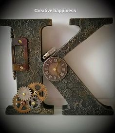 Creative Happiness: Search results for steampunk letters