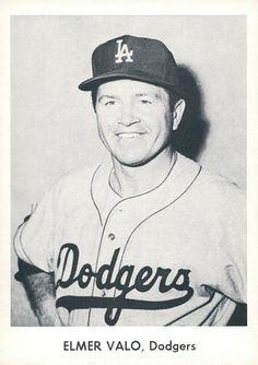 3570a9ab177 1958 Danny Goodman Los Angeles Dodgers Set B  NNO Elmer Valo Front Baseball  Photos