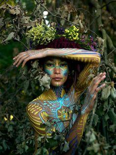 Oliver Halsman Rosenberg /art/ & \text\: Body as Canvas
