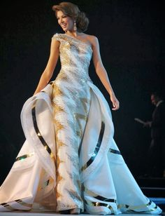 Designer Pageant Dresses | #dresses #gowns #pageant #couture #fashion | Haute Couture Evening Gowns for a Pageant Competition jαɢlαdy