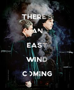 East wind coming