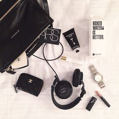 Instagram media butternscotch - Today's #whatsinmybag.