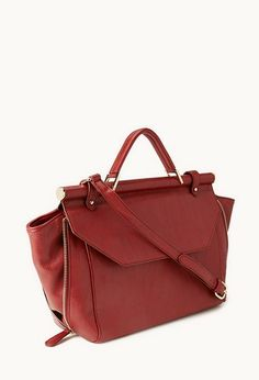 Fancy Structured Carryall | FOREVER21 - 1000127204