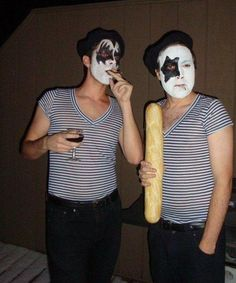 French Kiss. Halloween Costume. why can't I stop laughing??
