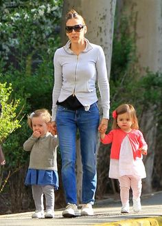 Sarah Jessica Parker and her twin girls