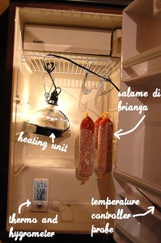 Adventures in Charcuterie - Fermentation and Curing Chamber | Mamaliga