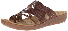 BareTraps Womens Janice Toe Ring Sandal Brush Brown 95 M US * To view further for this item, visit the image link.