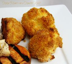 Help! Mom's on a Health Kick!: Cauliflower Nuggets