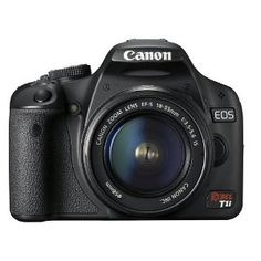 Canon EOS Rebel T1i 15.1 MP CMOS Digital SLR Camera | Click Image For More Information or To Buy It