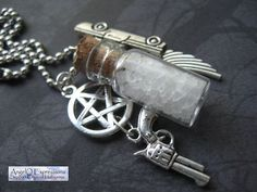 Supernatural Mojo Necklace by AngelQ on Etsy, $13.95    Just need to add a little borax