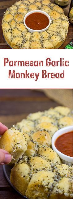 Need a great appetizer to share with friends? This Parmesan Garlic Monkey Bread is both fun and delicious!