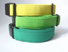 Softshellový obojek CITRONOVÝ Dog Collars, Belt, Accessories, Belts, Jewelry Accessories